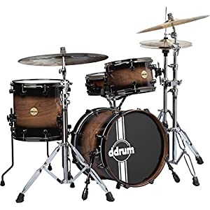 ddrum Paladin Wnut Speakeasy 3pc. Nt Burst ドラムセット ウォルナットシェル ナイトバースト