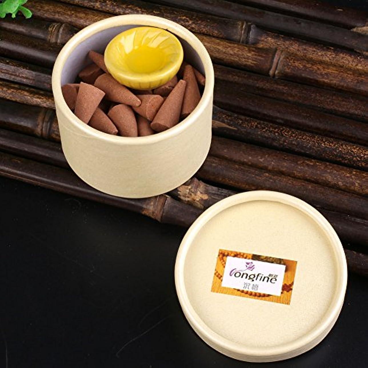 クスコ大学生消費者Kicode アロマテラピー 箱入り コーン 植物エッセンシャルオイル ホームデコレーション ボックスの色はランダムです ナチュラルスモーク