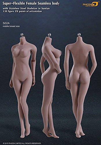 ファイセン・リミテッド 1/6スケール 超柔軟性シームレス女性素体 サンタンシリーズ バストサイズM(S02A)