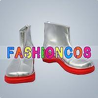 ★サイズ選択可★女性24CM UA1067 VOCALOID 呪音キク コスプレ靴 ブーツ