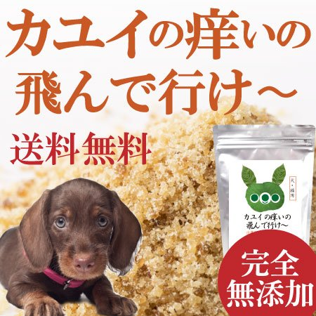 カユイの痒いの飛んで行け30g【犬.猫のアレルギー・皮膚(皮...