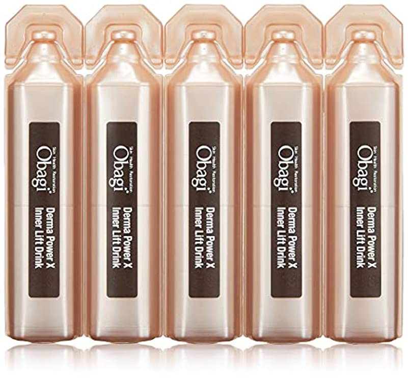 幾何学調停するオッズObagi(オバジ) オバジ ダーマパワーX インナーリフト ドリンク(美容飲料) 20mL×10本