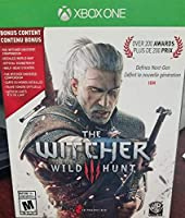 The Witcher 3: Wild Hunt Video Game for Xbox One - Bonus Content including Witcher Universe, Stickers, and World Map