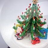 オーストリア?PERZY製スノーグローブ(スノードーム) 「クリスマスツリーとプレゼント」 120mmタイプ #1759