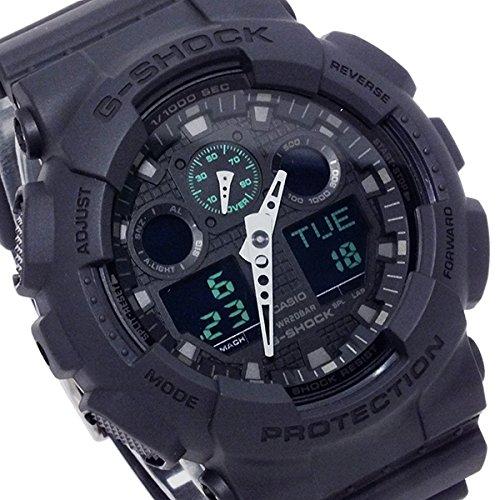 カシオ Casio - G-Shock - Ana-Digi - Matte Black - GA100MB-1A 男性 メンズ 腕時計 【並行輸入品】