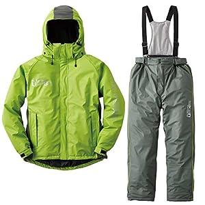 ロゴス リプナー 油に強い防水防寒スーツ サーレ 30615362 グリーン L