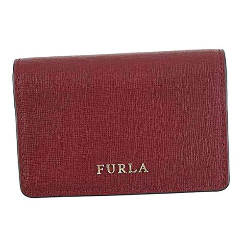 FURLA フルラ BABYLON S BUSINESS CARD CASE 名刺入れ チェリー PS04 [並行輸入品]