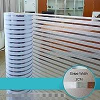 ませんグルー のぞき見防止 窓フィルム, 不透明 ガラスフィルム UVカット 遮光 遮熱 断熱 結露防止 のために適した 寝室 キッチン 浴室 リビングルーム オフィス プライバシー-L-90×100センチメートル(35×39インチ)