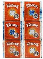 キンバリーProfessional Kleenex抗ウイルスFacial Tissueキューブ(Pack of 6)