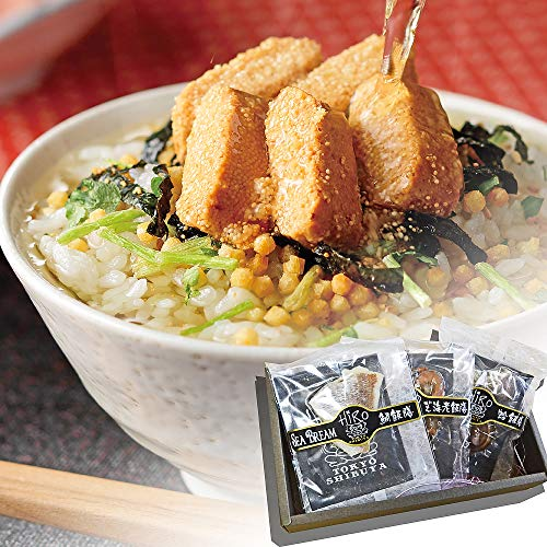 高級 お茶漬け ギフト 3食入り (炙り明太子・うなぎ・梅)