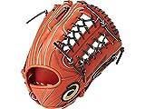 アシックス ベースボール グローブ ソフトボール用 グラブ ゴールドステージ スピードアクセル 内野手用 BG (2290)Rオレンジ×ブラック 右投用(LH)