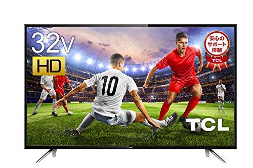 TCL 32V型 ハイビジョン 液晶 テレビ 外付けHDD対応 裏番組録画 HDMI4端子対応 32...
