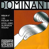 Dominant No.130 ヴァイオリン弦 スチール/アルミ巻 E線 (4/4) ボールエンド