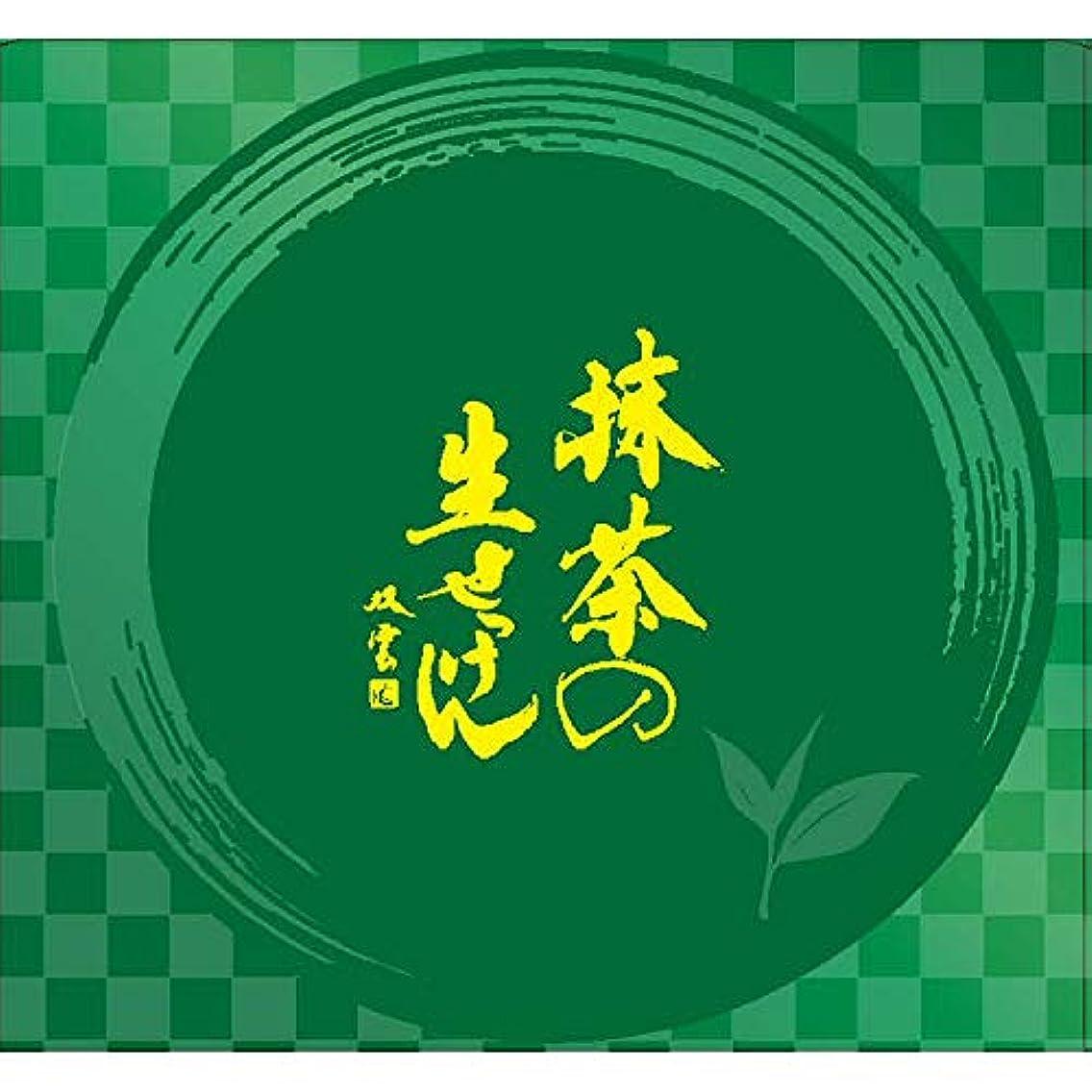 矩形擬人リーン美香柑 抹茶の生せっけん ジャータイプ 120g (※泡立てネット?スパチュラ付き) 洗顔 抹茶の香り グリーン