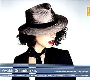 ヴィヴァルディ : 怒れるオルランド (1714年版) (Vivaldi: Orlando 1714)