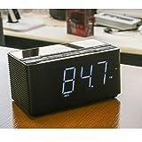 目覚まし クロックラジオ MP3再生機能付 ワイドFM対応 BluetoothVer4.1 CDA-75BT