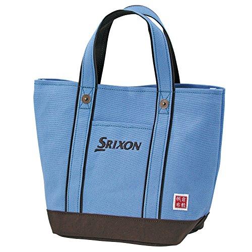 DUNLOP(ダンロップ) SRIXON 帆布ラウンドトートバッグ  GGF-B4008 サックス