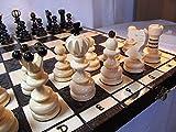 ポーランド製 木製チェス 42cm PEARL LARGE by Master Of Chess