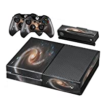 Cosmos, Skin Sticker Vinyl Cover with Leather Effect Laminate and Colorful Design for Xbox One by Virano [並行輸入品]