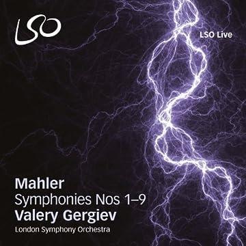 マーラー: 交響曲全集 / ゲルギエフ&ロンドン交響楽団 (Mahler : Symphonies Nos 1-9 / Valery Gergiev, London Symphony Orchestra) (10SACD Hybrid) [輸入盤]