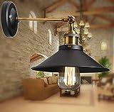 壁灯 メタルシーリングランプシャンデリアエジソンE27調節可能ウォールランプ照明天井サスペンションランプ壁掛照明 居間照明 スポットライトレトロなデザイン