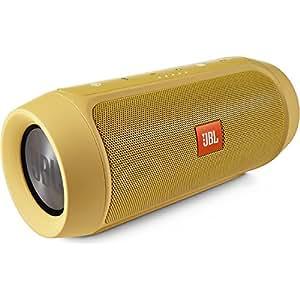 【国内正規品】JBL CHARGE2+ Bluetoothスピーカー IPX5防水機能 ポータブル/ワイヤレス対応 イエロー  CHARGE2PLUSYELJN