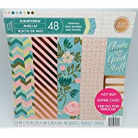 Craft Smith 12 x 12 Paper Pad Honeydew MPP0187