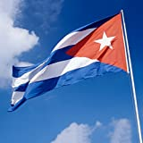 Dovewill  全15国 高品質 世界国旗 90×150cm 記念品 運動会 試合 競技 応援用 - キューバ