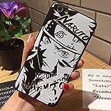 ナルトNARUTOiphonex iPhone7/8 Plus・アイフォン7/8 カバーpc+シ...