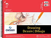 Canson C100510980 14 in. x 17 in. Foundation Drawing Pad