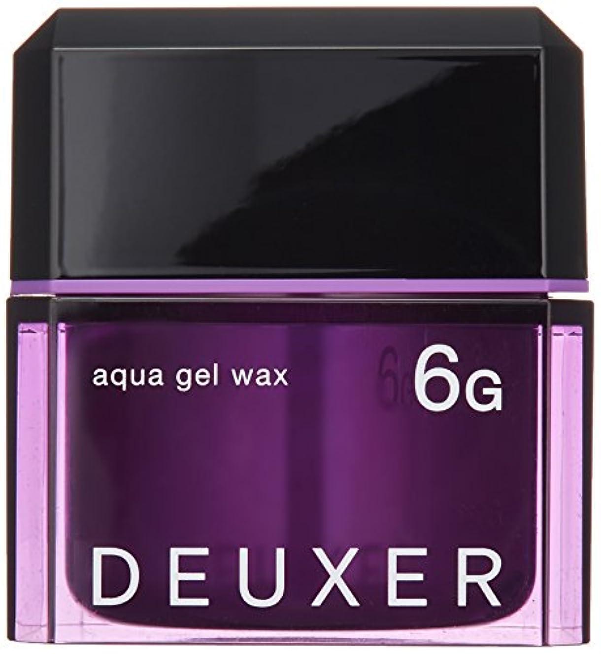 適用する早熟さておきナンバースリー DEUXER(デューサー) アクアジェルワックス 6G 80g