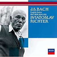 Bach: English Suites Bwv808. 809 & 8 by Sviatoslav Richter