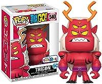 Funko - Figurine DC Teen Titans Go - Trigon Exclu Pop 10cm - 0889698149662