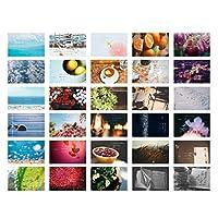 30 PCSオリジナリティポストカード手塗りポストカード美しいお土産カード N