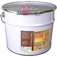 リボス自然塗料 カルデット(室内・野外用カラー仕上げ) 30L 102黒壇