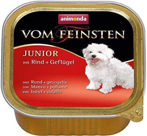 アニモンダ フォムファインステン ジュニア 牛肉・豚肉・鳥肉 150g (犬用)
