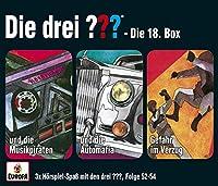Die drei ??? Box 18. Folgen 52 - 54 (drei Fragezeichen) CD