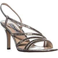 Nina Womens Amani Open Toe Casual Slingback Sandals US