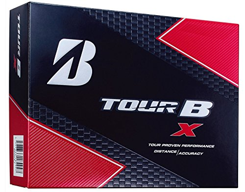 BRIDGESTONE(ブリヂストン) ゴルフボール TOUR B X (1ダース 12球入り)  8BWXJ Bマーク ホワイト