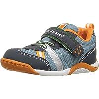 Tsukihoshi Boys' Kaz Sneaker Charcoal/Sea 8 M US Toddler