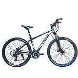 ダブルディスク ハードテール マウンテンバイク SHIMANO24SPEED 軽量アルミAL6061 TRINX(トリンクス)C500 MTB 27.5インチ ロングストロークサス