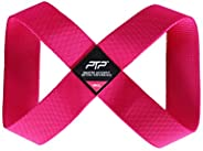 PTP Yoga 8Loop Stretching Loop Strap for Yoga, Pink, Small