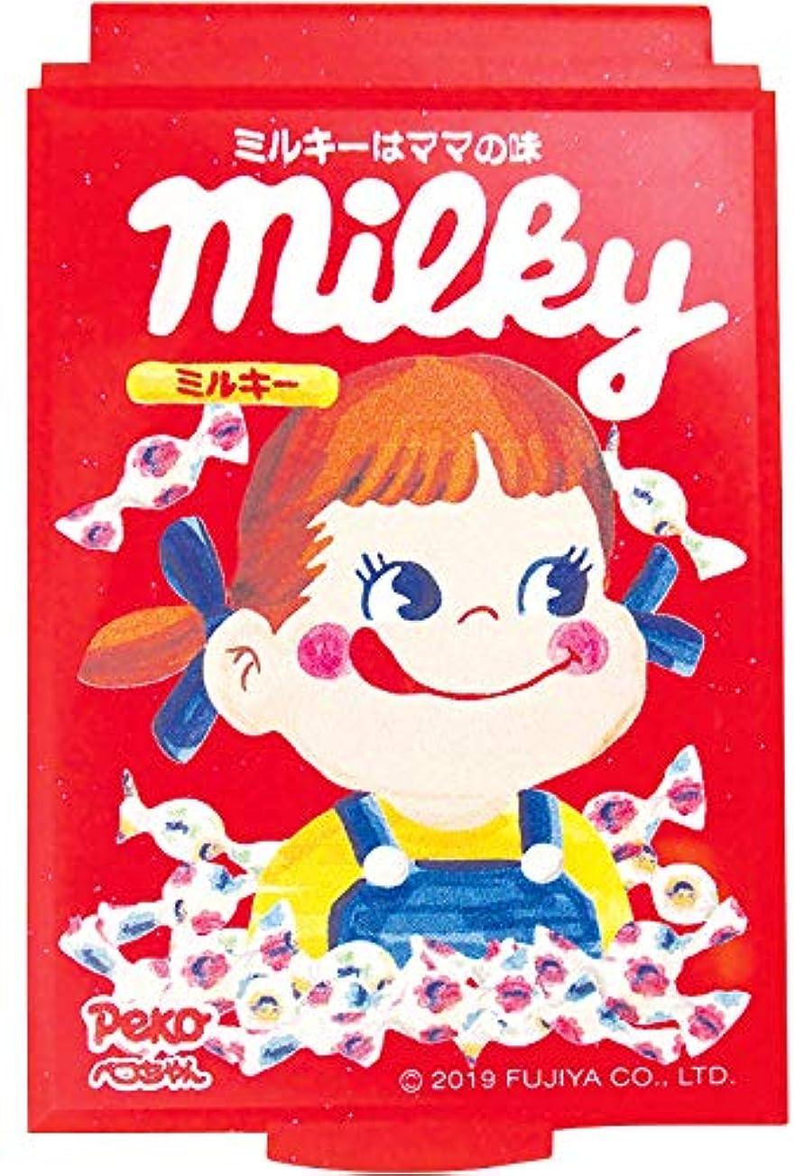 ドキドキ三角用語集ティーズファクトリー ミニミラー ペコちゃん/ミルキー 5.7×8.3×0.5cm PE-5522622ML