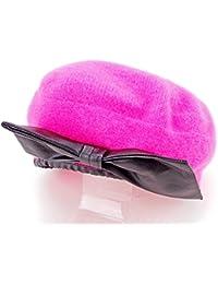 マークバイ マークジェイコブス MARC BY MARC JACOBS 帽子 ベレー帽 レディース リボン ニット 中古 S717