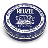 Reuzel - Fibre Water Soluble Pomade For Men - Firm, Pliable Long Lasting Hold - Non-Sticky, Flake Free - Low Shine - Vanilla Mint Scent - With Aloe Vera & Quinoa To Promote Elasticity - 1.3 oz, 35 g