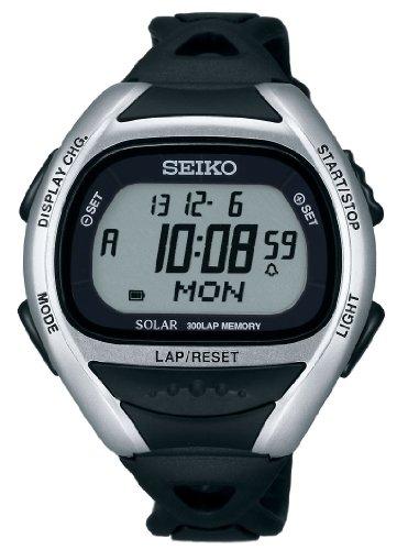 [해외]세이코 (SEIKO) 슈퍼 Runners 솔라 실버 × 블랙 SBEF013/Seiko (SEIKO) Super Runners Solar Silver × Black SBEF 013