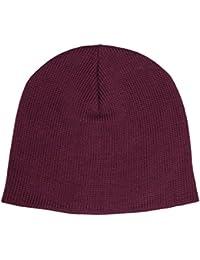 "NEW YORK HAT(ニューヨークハット) コットンビーニー バーガンディー""Cotton Beanie #4507"" [並行輸入品]"