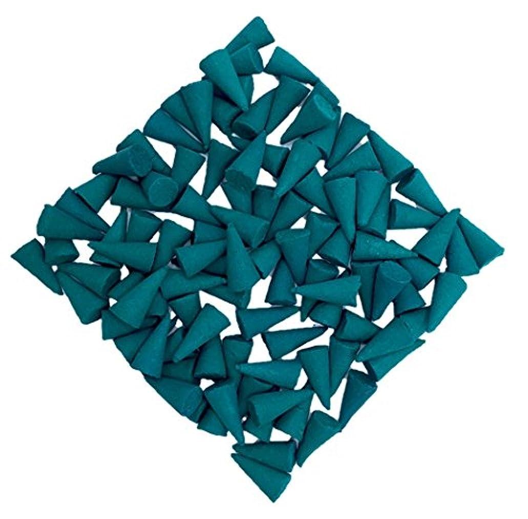 カウント群がる行うグリーン天然パブネシトロネラ線香 レモングラスシトロネラ線香 120コーン 無料のセラミックバーナー シトロネラ線香