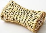 籐まくら < 蒸れない 通気性抜群 籐100% > 枕 [約30×17cm] 【弁天インテリア】