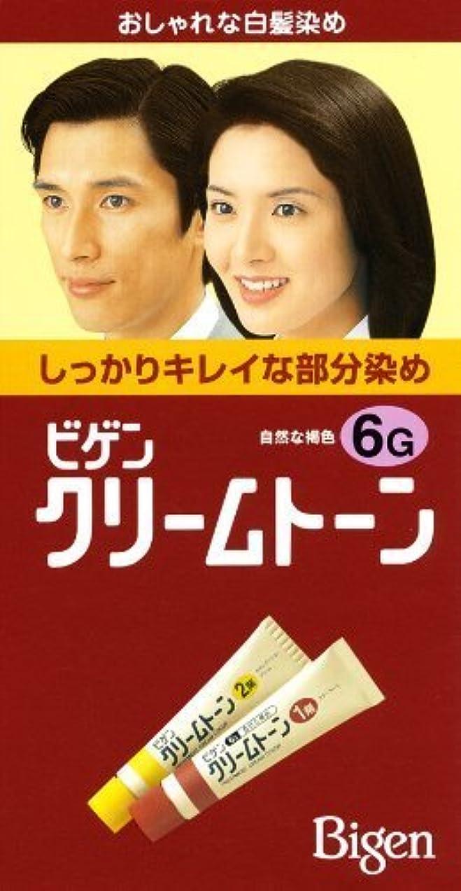 瞳学習者ペックホーユー ビゲンクリームトーン 6G